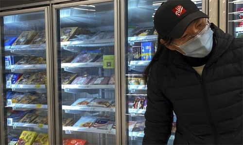 China's claims of coronavirus on frozen foods