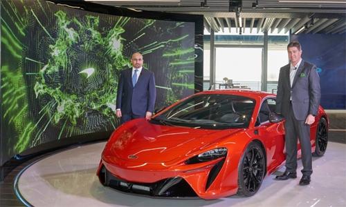 High-Performance Hybrid supercar McLaren Artura revealed in Bahrain