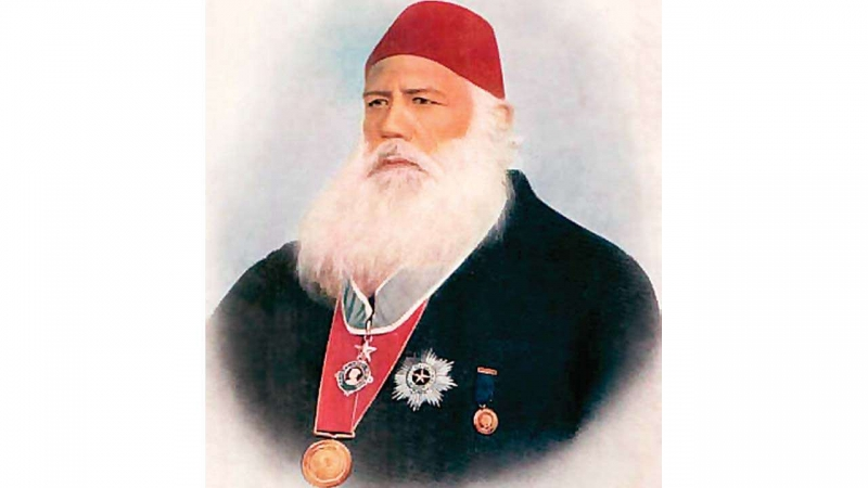 Tribute to Sir Syed Ahmed Khan