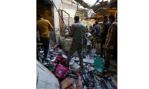 Bomb blast kills at least 35 people in Baghdad