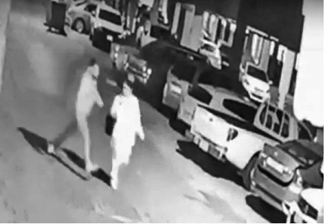 Expat woman ruthlessly beaten up on the road