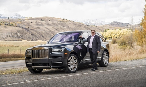 Rolls –Royce Cars celebrates successful 2018 in MEA