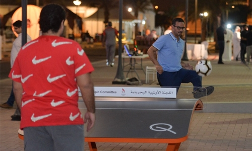 BOC introduces Teqball in Bahrain