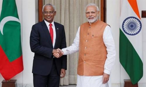 New Maldives leader secures $1.4bn from 'closest friend' India
