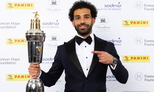 Liverpool's Mohamed Salah named PFA Player of the Year