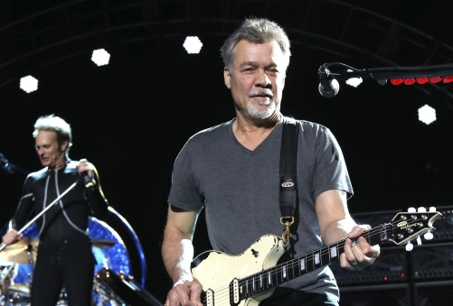 Rock legend Eddie Van Halen dies aged 65