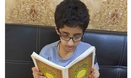 Bahrain kid with autism excelling academically