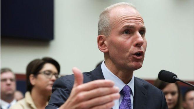 Boeing boss Dennis Muilenburg to step down