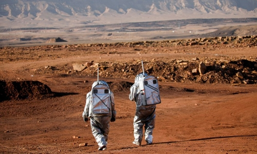 Six scientists to spend one month in Israeli crater simulating life on Mars