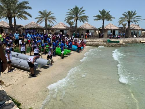 Charity raft race raises over BD25,000