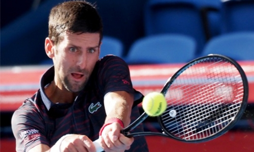 Djokovic stuns Japan Open with machine-like tennis