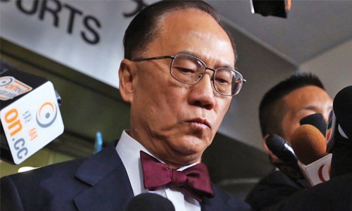 Convicted ex-Hong Kong leader jailed 20 months for misconduct