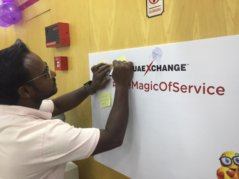 UAE Exchange Celebrates Customer Service Week