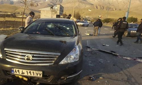 Iran's top nuclear scientist killed in attack