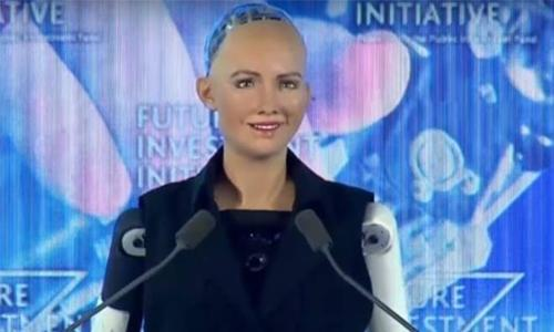 Sophia the Robot is here