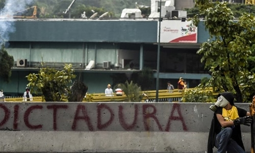 Dozens of children evacuated from Caracas hospital amid unrest