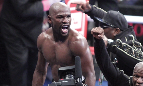 I'm finished says Mayweather after McGregor rout