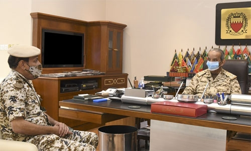 BDF Commander-in-Chief receives Royal Special Force Commander