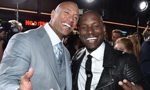 Tyrese wants to end feud with Johnson