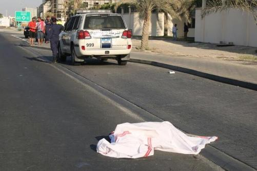Asian dead after being hit by a car