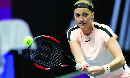Kvitova closes in on return to top 20