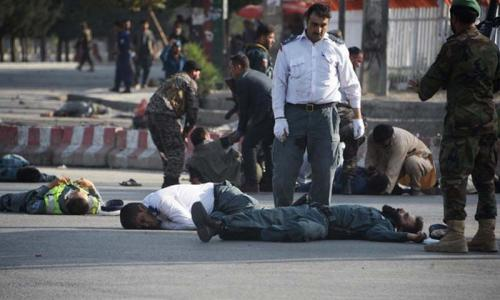 Kabul airport attack leaves 14 dead