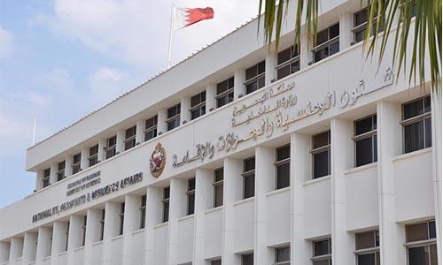 Bahrain NPRA extend validity of visit visas