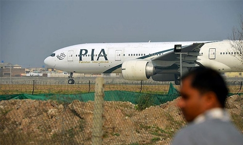 Pakistan plane carrying 47 crashes, reportedly on fire