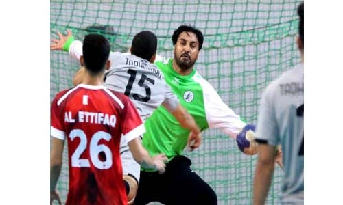 Ettihad, Ettifaq advance to Khalid bin Hamad Handball Cup quarters