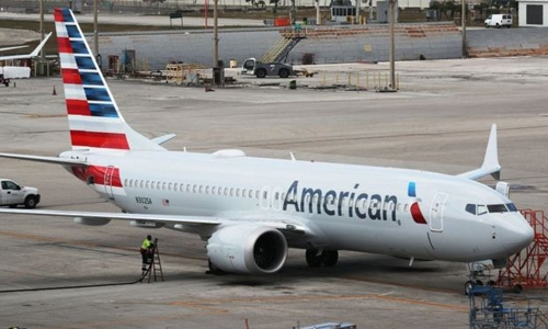 American Airlines says MAX grounding hit 2Q profits
