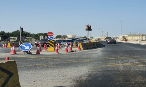 BD 9.3 million King Hamad street project near completion