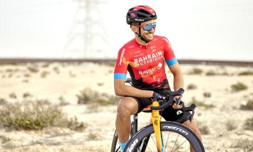 HH Shaikh Nasser praises Bahraini cyclist's success