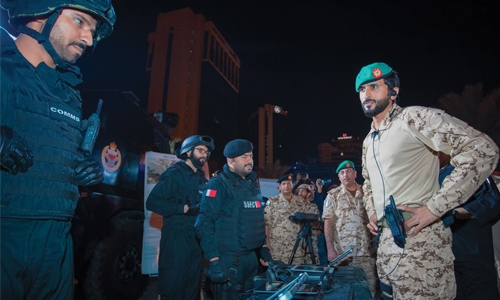 Enhancing counter terrorism efforts  in Bahrain