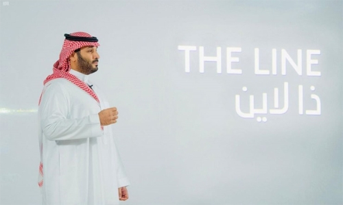 Saudi Crown Prince announces THE LINE at NEOM