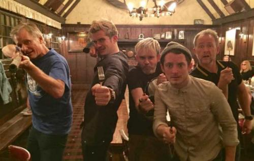 'The Lord of the Rings' cast reunites