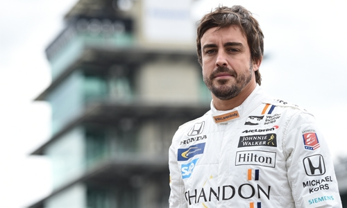 Alonso turns rookie for test with Toyota