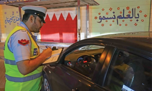 Police deal with 546 violations