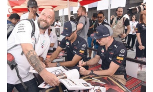Race fans to meet F1 stars in autograph session at BIC