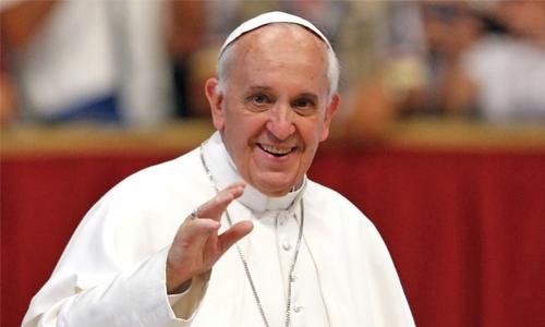 Pope reveals anti-stress secrets - and it's not prozac