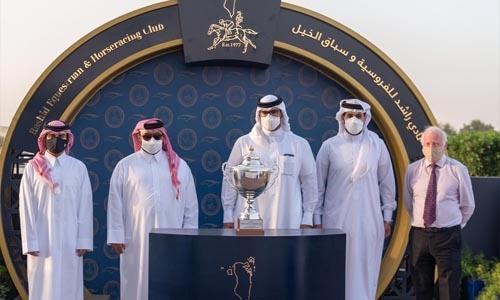 Legendary Italian jockey wins feature races at Rashid Equestrian and Horseracing Club