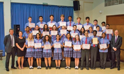 St Christopher's School holds prize day