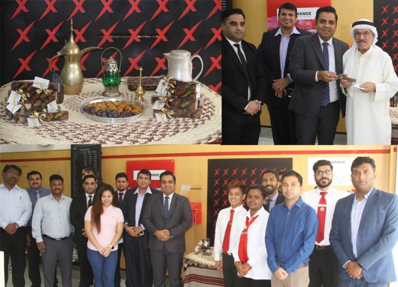 UAE Exchange celebrated Eid with customers and staffs