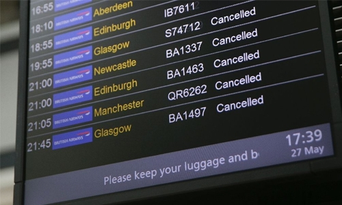 BA flights disrupted for third day after IT crash