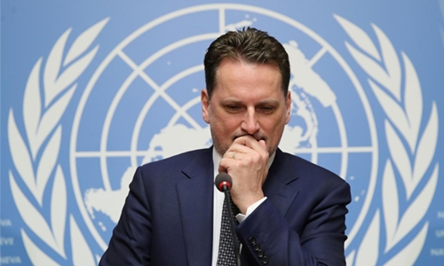 UN Palestinian refugee agency replaces boss
