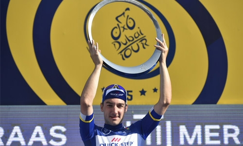 Viviani wins final stage to secure overall victory