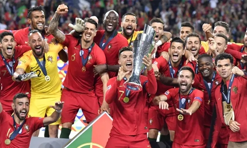Portugal defeat Netherlands to win first Nations League
