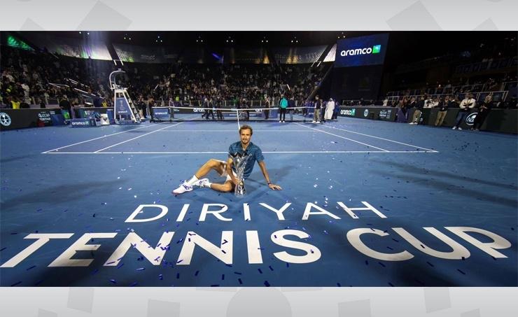 "Russian ""Medvedev"" Is Champion of Al-Dira'ayah Tennis Cup"