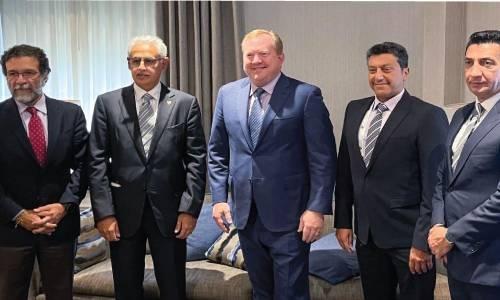 Gulf Air, Boeing officials meet at IATA meeting
