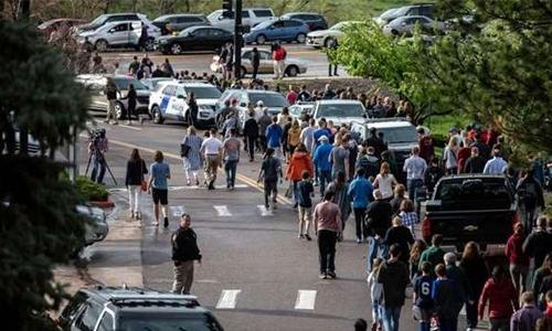 Student killed in US school shooting near Columbine