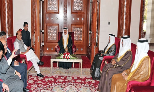 Bahrain keen to develop ties with India : HM King
